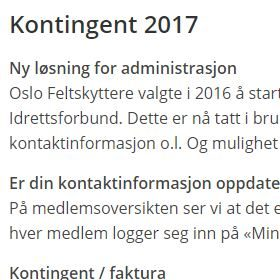 Kontingent 2017